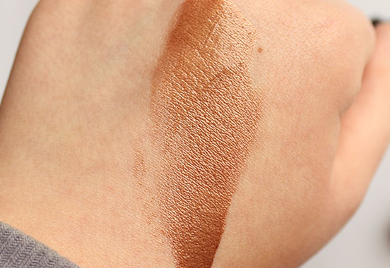 LORAC TANtalizer Deep Body Bronzing Luminizer Swatch