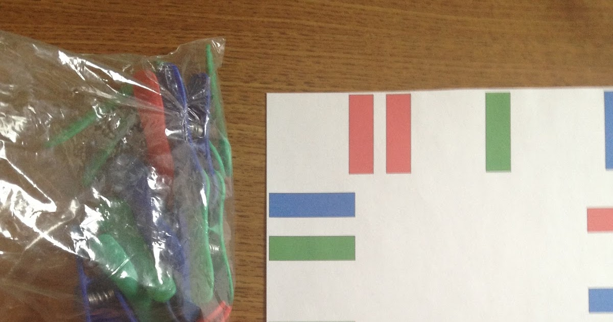 Autism Tank: Color Matching Work Task