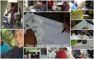 Pasar Murah HMI : Berbagi Dalam Indahnya Silaturahmi