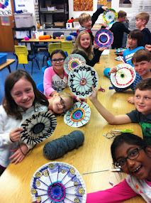 Radial Symmetrical Weaving!