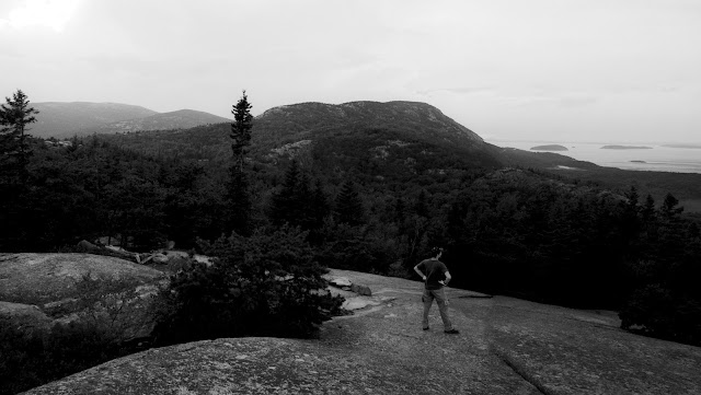 Beehive Trail , Acadia National Park, Mt Desert Island, Bar Harbor Maine