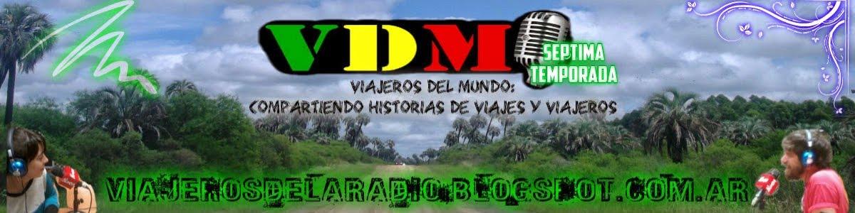 Viajeros del Mundo - VDM  Radio online!