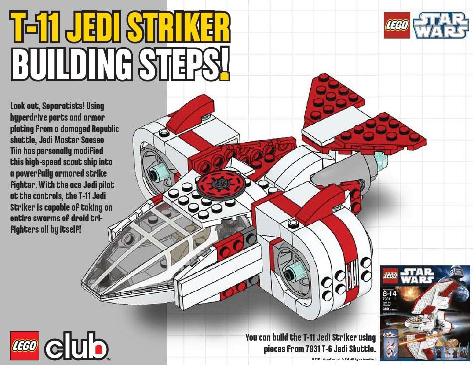 Boris Bricks Lego Star Wars 7931 Alternate Modelt 11 Jedi Striker