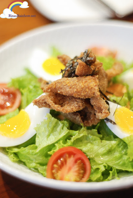 Fried Chicken Skin Salad