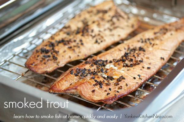 Learn how to smoke trout, salmon, salt and more quickly and easily at home