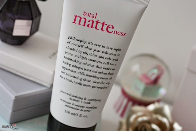 Philosophy Total Matteness Cleanser & Mask
