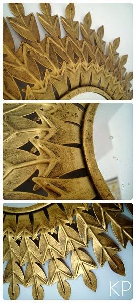 Restauración de espejos antiguos y muebles de época en valencia. Dorado de objetos de madera y metal.
