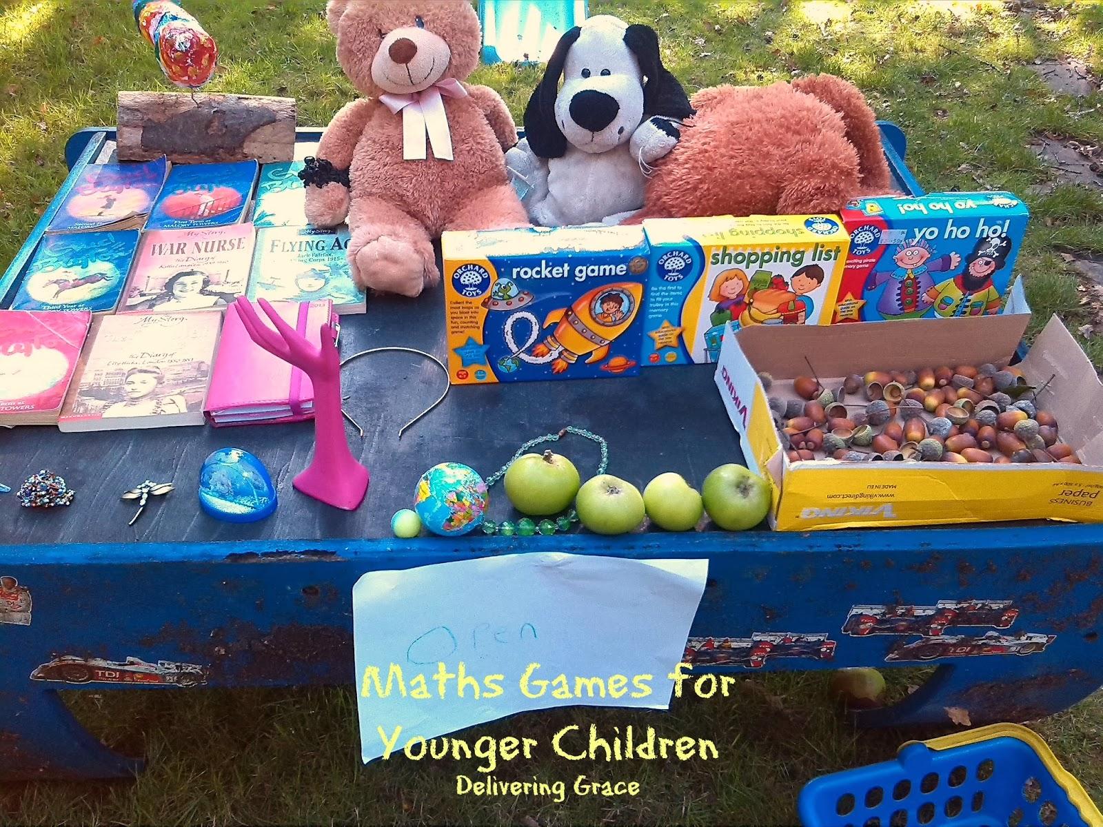 delivering grace: Maths Games for Younger Children