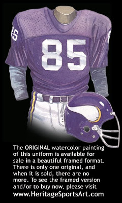 Minnesota Vikings 1973 home uniform