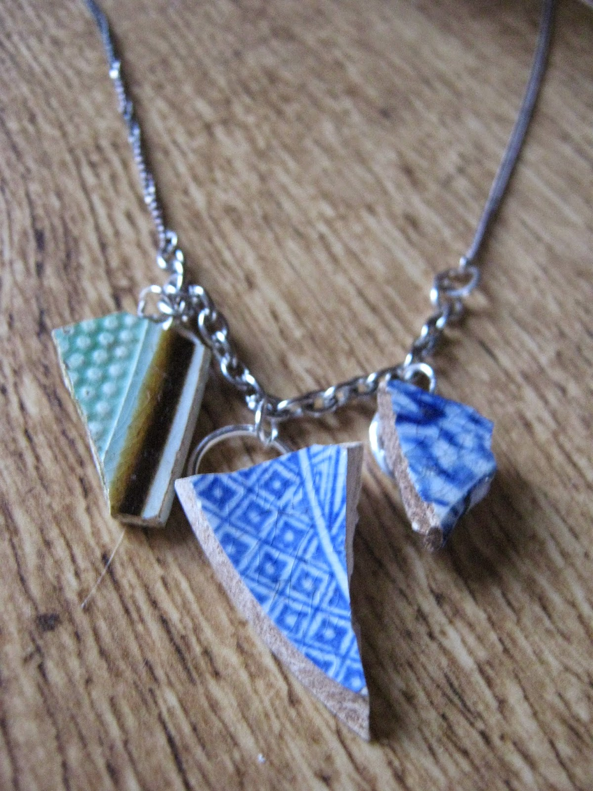 DIY Tutorial Porcelain Necklace