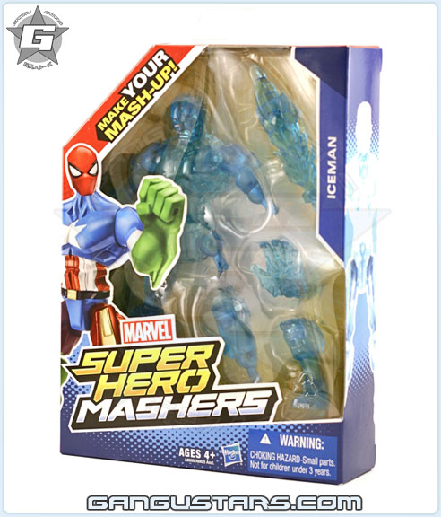 hasbro Mashers Iceman marvel super heroes toys x men アメコミ
