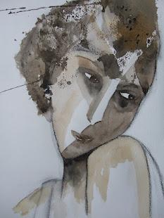 akvarell/porträtt