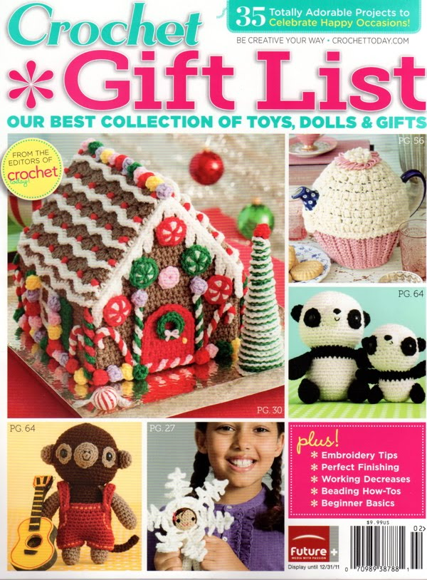 Crochet Gifts Magazine : Tea With Friends: Crochet Gift List magazine