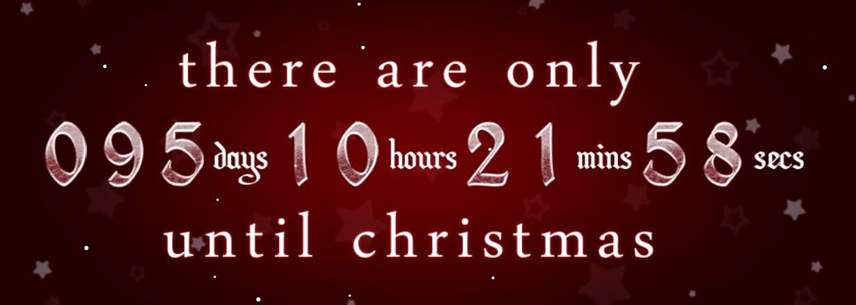 Christmas Countdown is on!