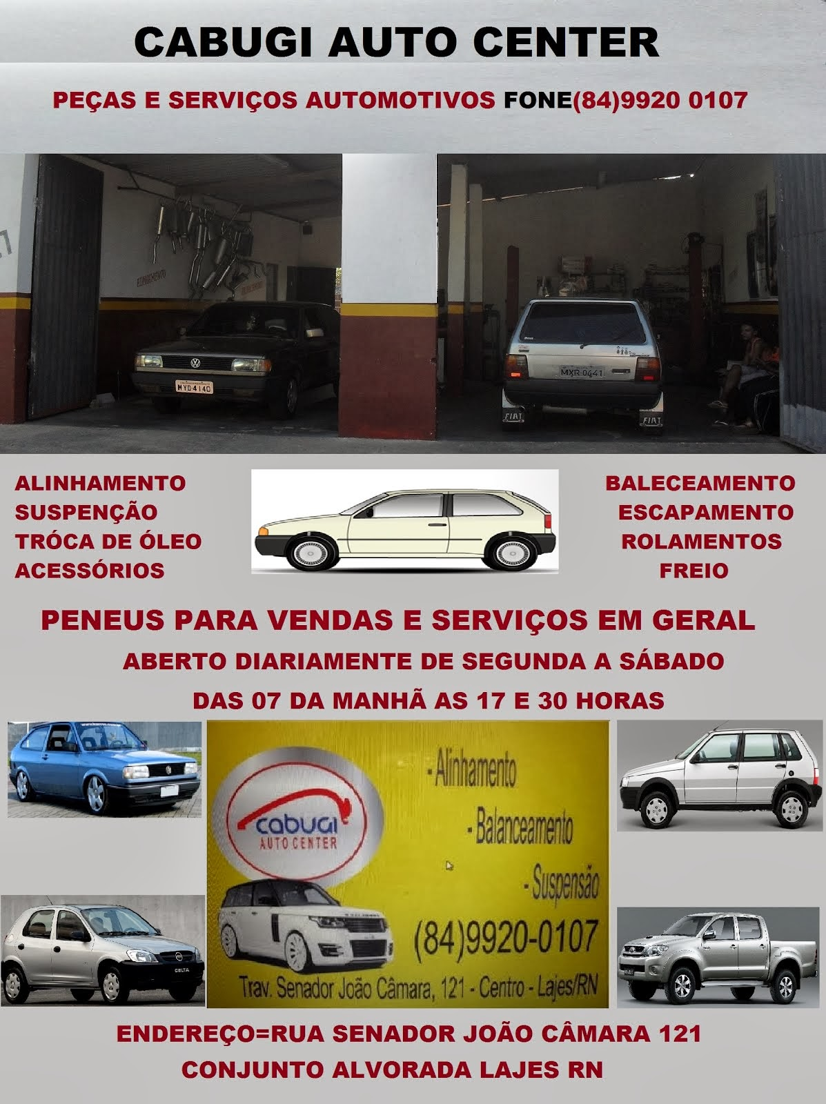 CABUGI AUTO CENTER LAJES RN