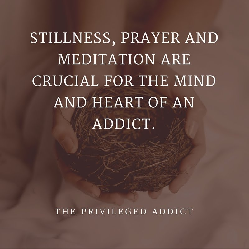 Stillness, Prayer & Meditation