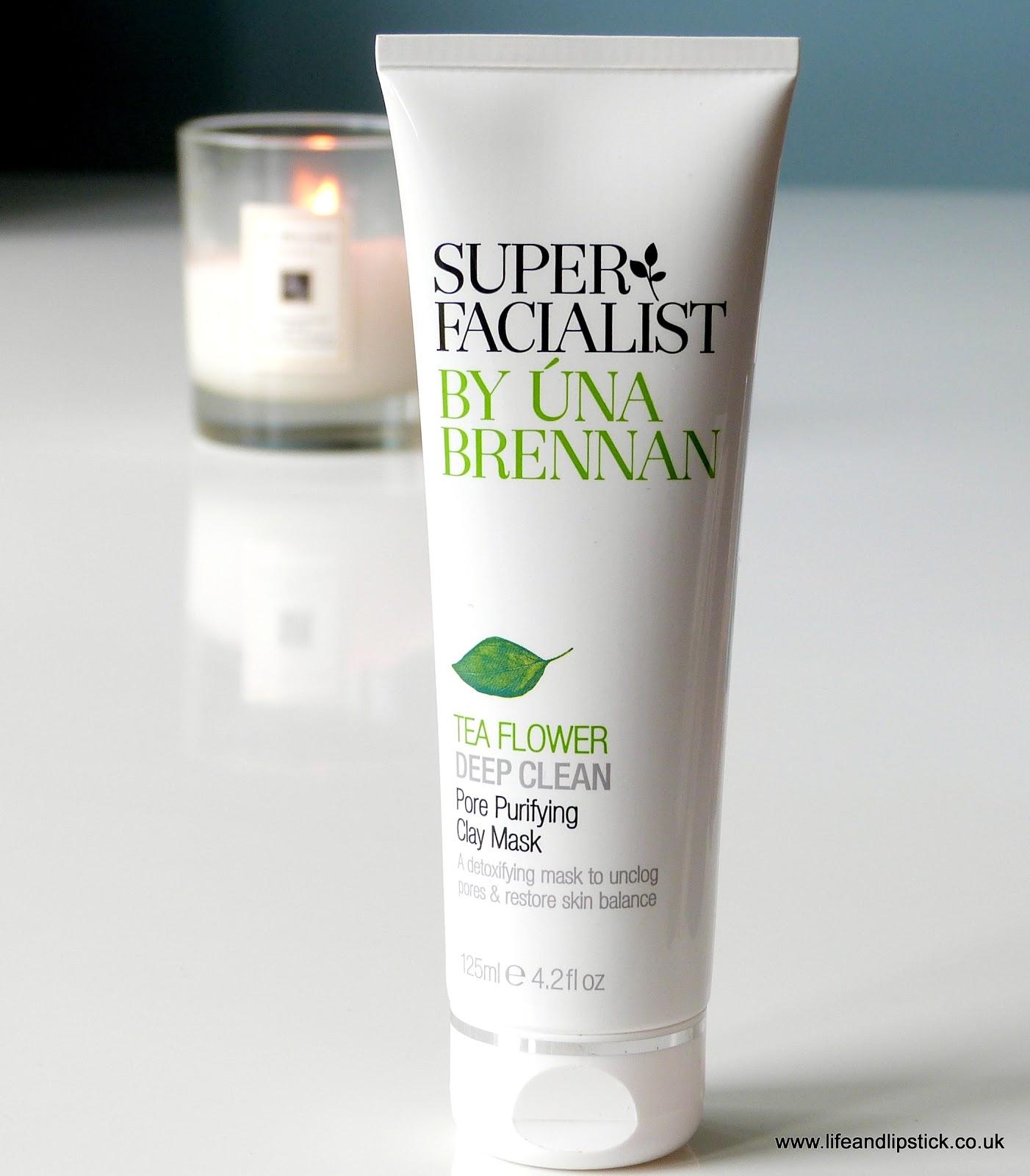 Super Facialist by Una Brennan Tea Flower Deep Clean Pore Purifying Clay Mask