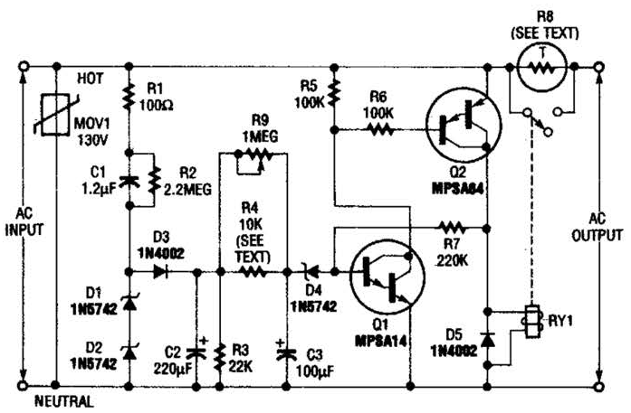 Clipart 11203 as well Document together with 3 Phase Wiring Diagram For Surge Protection moreover Motor Speed Control likewise Choosing  ponents For A Triacs Snubber. on varistor circuit diagram