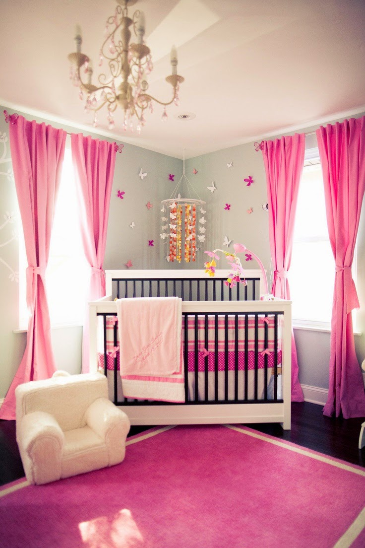 Dise o de habitaciones para beb s con cunas decorar - Ideas habitaciones bebe ...