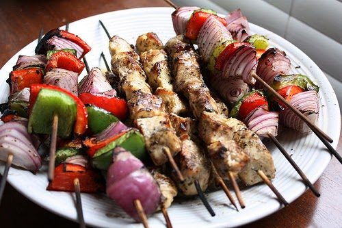 Lemon Chicken Kabobs Recipe