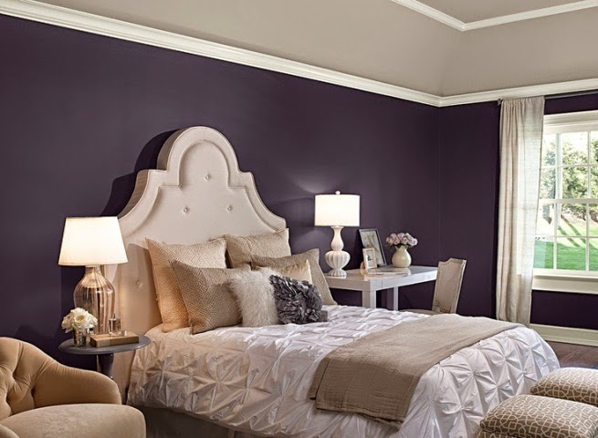 Best wall paint color master bedroom for Bedroom colour ideas