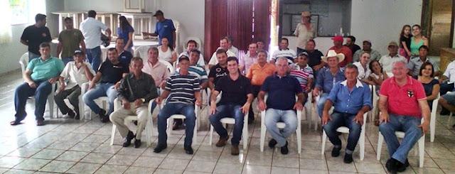 Roncador: Reunião define Orlando para prefeito e Geovany de vice