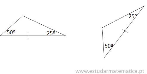 critérios de igualdade de triângulos