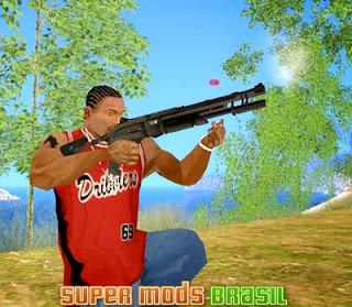 [Mod GTA SA] Shotgun Crysis Warhead 2