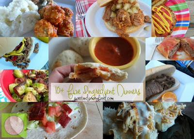 10+ five ingredient dinners (sweetandsavoryfood.com)