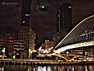 Torres Izozaki, ría de Bilbao, Zubi Zuri de Calatraba-
