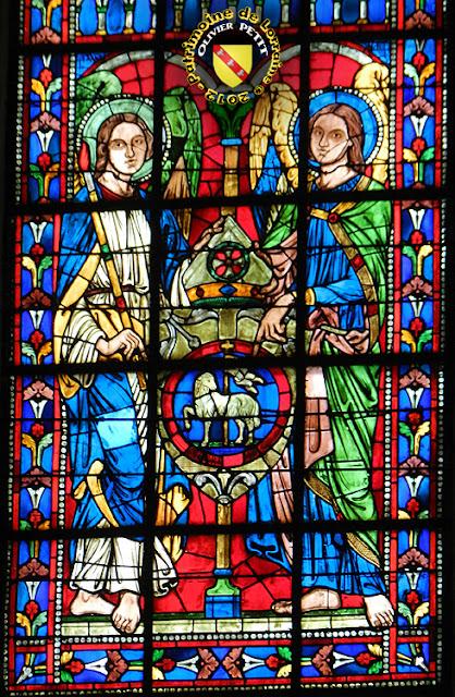 TOUL (54) - Cathédrale Saint-Etienne : vitrail de 1863