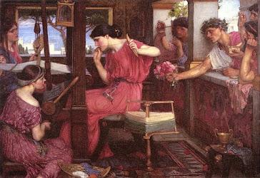 A força do bordado nas mãos de Penélope, na Grécia Antiga