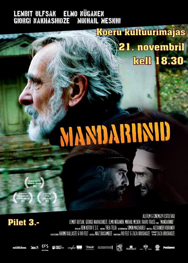 Póster: Mandariinid