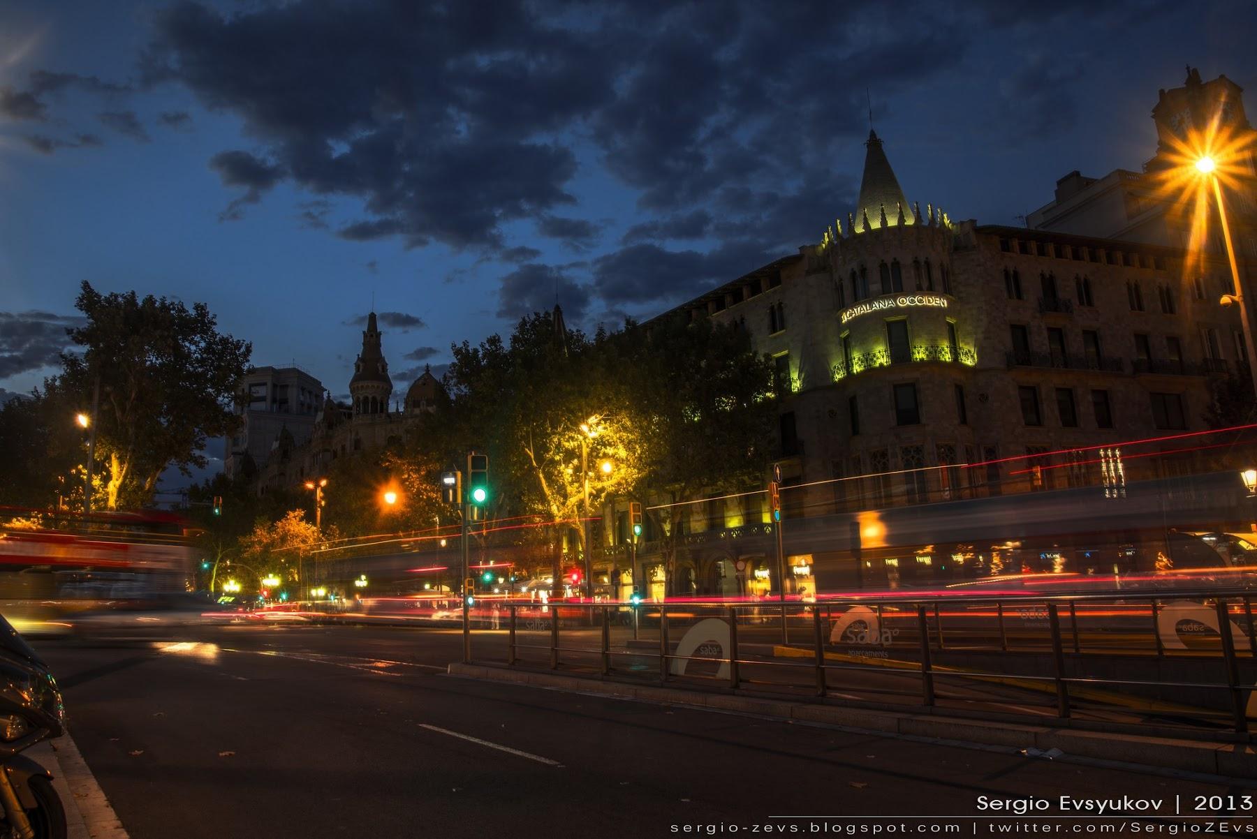 Barcelona's night