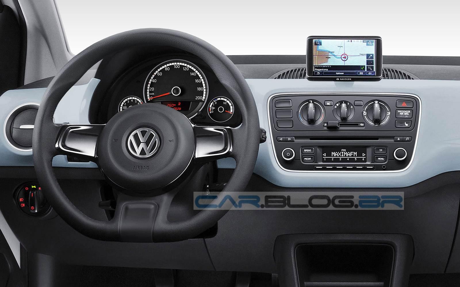 Volkswagen Up! 2015 - versão High-Up! - painel