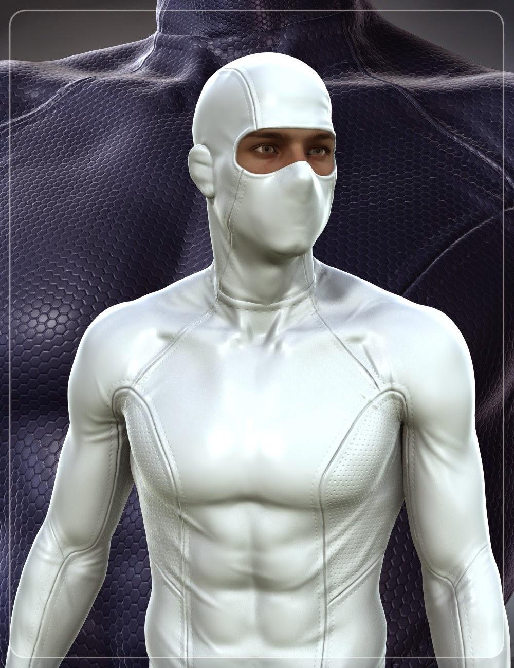 Super Hero Costume pour Genèse 2 Homme (s) et Michael 6