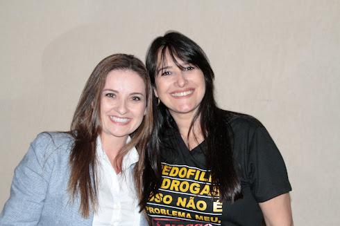 Deputada Federal Lauriete e Marta Lança