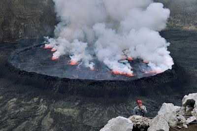 Expedicion al crater del volcan Nyiragongo - 5