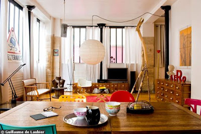 s no secret that cutting loft environments are very fashionable Vintage style decorating at home