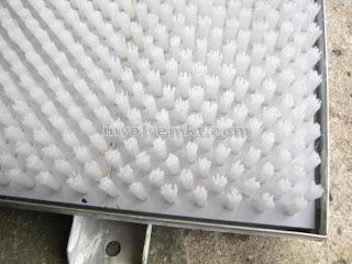 bed brush, flat brush, turret punch press brush, CNC punch press machine brush