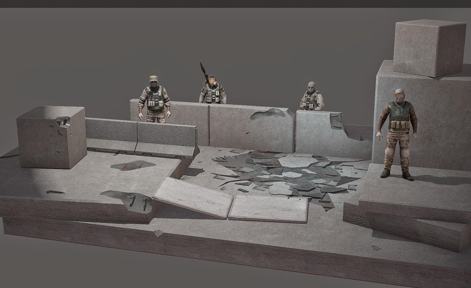 Concrete Scenery
