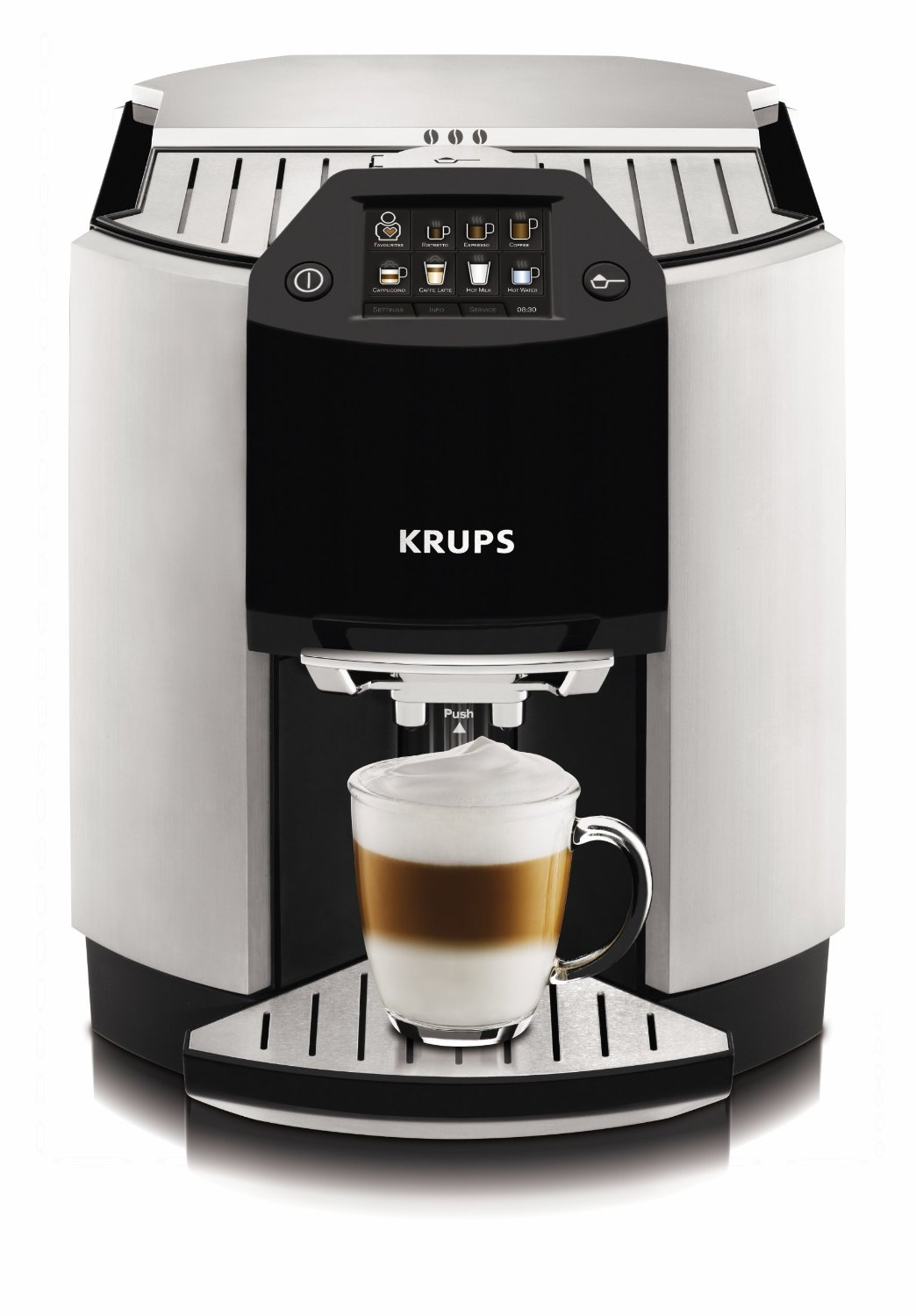 Krups cappuccino machine instructions