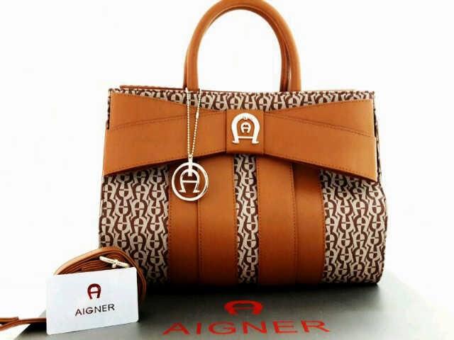 Contoh Model Tas Aigner Branded Original Terbaru Saat Ini 2018