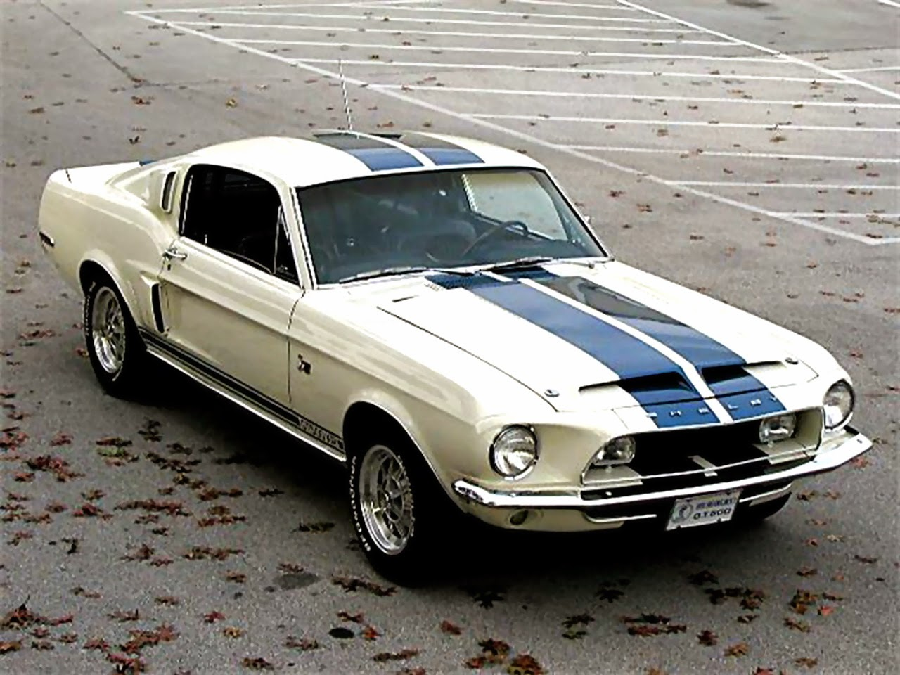 The Most Popular Ford Mustang  1968 Ford Mustang Shelby GT500
