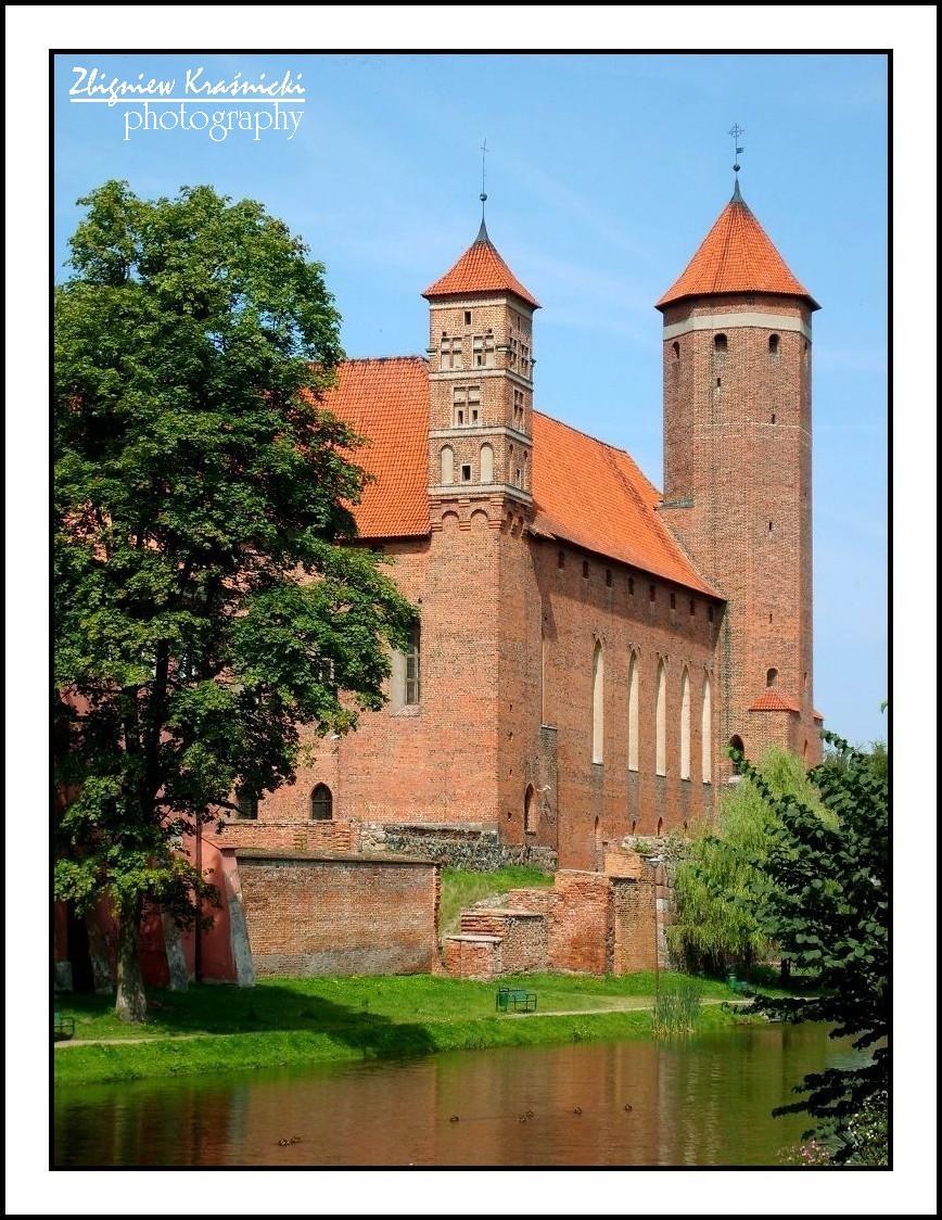 Lidzbark Warmiński. Zamek biskupi