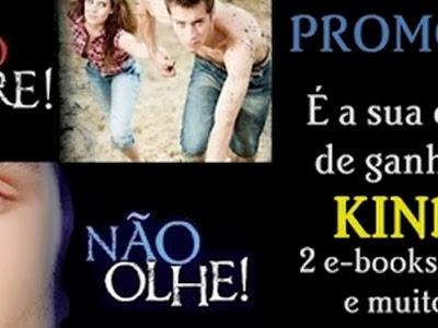 Promoção: Não Pare! É a sua chance de ganhar um Kindle!