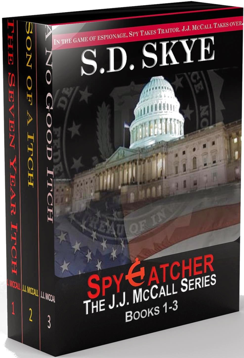 SpyCatcher: J.J. McCall (Books 1-3)