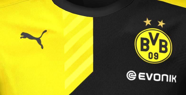 Nuevas camisetas de entrenamiento Puma del Borussia Dortmund