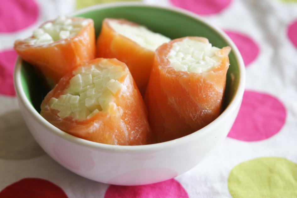 dis maman on mange quoi menu 537 roul de saumon et pomme verte ou quand grignoter est bon. Black Bedroom Furniture Sets. Home Design Ideas