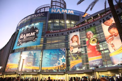 NAMM Show Anaheim image from Bobby Owsinski's Big Picture blog